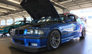 "E36 M3 Square Fitment<br />Wheels: 17x9"" ET30 Hyper Black ARC-8<br />Tires: 245/40-17 Michelin Pilot Super Sport"