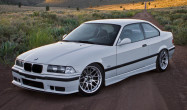 "E36 M3 Square Fitment<br />Wheels: 17x9.5"" ET35 Hyper Silver ARC-8<br />Tires: 245/40-17"
