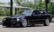 E36 M3 with Polished EC-7R