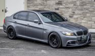 "E90 Non-M Square Fitment<br />ARC-8 17x9"" ET30 ARC-8 wheels in Satin Black<br />Continental DW 255/40-17 tires"