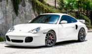 "996 Turbo<br />Wheels: Anthracite SM-10 18x9"" ET46 front, 18x12"" ET45 rear<br />Tires: Toyo R888 255/35-18 front, 315/30-18 rear"