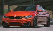 "F82 M4 Square Fitment<br />Wheels: 18x10"" ET25 Satin Black APEX ARC-8R<br />Tires: 275/35-18 Toyo Proxes R888R"