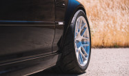 "E46 M3 Square Fitment<br />Wheels: 18x10"" ET25 Brushed Clear APEX ARC-8R<br />Tires: 275/35-18 Toyo Proxes R888R"