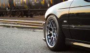 "E39 Square Fitment<br />Wheels: 18x9.5"" ET22 Hyper Black ARC-8"