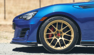 "18"" Square Fitment<br />Wheels: 18x9.5"" ET40 Satin Gold EC-7R<br />Tires: 265/35-18 Michelin Pilot Sport 4S"