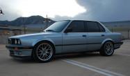 "E30<br />Wheels: 17x8"" ET25 Hyper Silver ARC-8"