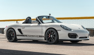 "Boxster Spyder<br />Front: Satin Black 18x8.5"" ET50 SM-10 with 245/40-18 B Potenza RE71-R<br />Rear: Satin Black 18x10.0"" ET36 SM10 with 275/35-18 B Potenza RE71-R"