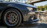 """5th Gen 1LE Staggered Fitment<br />Wheels: Anthracite ARC-8 19x10"""" ET20 front, 19x11"""" ET43 rear<br />Tires: Bridgestone RE71R 285/35-19 front, 305/30-19 rear"""