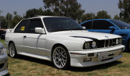 "E30 M3 Flat-Faced Square Fitment<br />Wheels: 17x8"" ET20 Hyper Silver ARC-8"