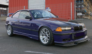 "E36 M3 Square Fitment<br />Wheels: 17x9.5"" ET35 Brushed Clear EC-7R<br />Tires: 255/40-17 Dunlop Direzza 03G"