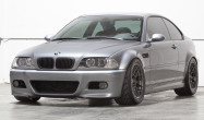 "E46 M3 Square Fitment<br />17x10"" ET25 ARC-8 wheels in Anthracite<br />275/40-17 Toyo R888 tires<br />Ground Control coilover kit and camber plates"