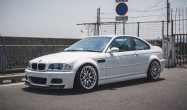 "E46 M3 Square Fitment<br />Wheels: 18x10.5"" ET22 Polished APEX ARC-8R<br />Tires: 265/35-18 Hankook Ventus RS4"