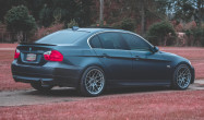 "E90 Non-M<br />Wheels: Hyper Silver ARC-8 18x9.5"" ET35 front, 18x9.5"" ET35 rear<br />Tires: Continental Extreme Contact 245/35-18 front, 265/35-18 rear"