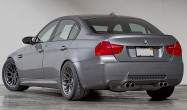 """E90 M3 Square Fitment<br />17x10"""" ET25 ARC-8 wheels in Anthracite<br />275/40-17 Toyo R888 tires"""