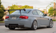 "E92 M3 Square Fitment<br />Wheels: 18x10.5"" ET22 Brushed Clear APEX EC-7R<br />Tires: 275/35-18 Nitto NT-01<br />Modifications: 5mm rear spacers"