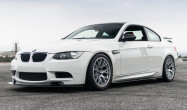 "E92 M3<br />Wheels: 18x10"" ET25 Race Silver EC-7<br />Tires: 275/35-18 Nitto NT01<br />Modifications: 7mm front spacers, 12mm rear spacers<br />Camber: -2° front & rear"