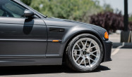 "E46 M3 Square Fitment<br />Wheels: 18x9.5"" ET35 Brushed Clear APEX EC-7R<br />Tires: 275/35-18 Toyo Proxes R888R"