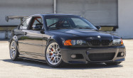 "E46 M3 Square Fitment<br />Wheels: 18x10"" ET25 Brushed Clear APEX EC-7R<br />Tires: 275/35-18 Toyo Proxes R888R"