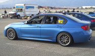 "F30 3 Series<br />Wheels: 18x8.5"" ET38 Hyper Black ARC-8<br />Tires: 235/40-18 Hankook RS3"