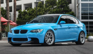 E90 M3 with Race Silver FL-5 Wheels