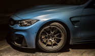 F82 M4 with Anthracite FL-5 Wheels