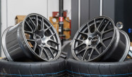 "18x9"" ET46 front and 18x10.5"" ET44 rear Anthracite EC-7R"