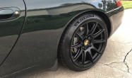 "911/996<br />Front: Satin Black 18x8.5"" ET42 SM-10 with 225/40-18 Michelin Pilot Sport 4S & -2° camber<br />Rear: Satin Black 18x11.0"" ET60 SM-10 with 265/35-18 Michelin Pilot Sport 4S"