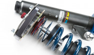 """JRZ RS TWO front dampers with Hyperco 2.25"""" ID main spring, helper spring, guide, and Ground Control adjustable camber plate."""
