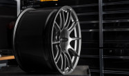 "19x11"" ET46 Anthracite APEX SM-10 Porsche Wheel"