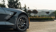 "C7 Staggered Fitment<br />Wheels: Anthracite EC-7 18x10"" ET58 front, 19x11"" ET78 rear<br />Tires: Nitto NT01 275/35-18 front, 305/30-19 rear"