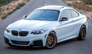 M235i<br />Wheels: 18x8.5: ET38 Matte Bronze ARC-8<br />Tires: Continental ExtremeContact 235/40-18 front, 245/35-18 rear