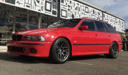 "E39 Square Fitment<br />Wheels: 18x9.5"" ET22 Anthracite ARC-8"
