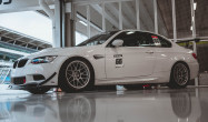 "E92 M3<br />Wheels: 18x10"" Hyper Silver ARC-8<br />Tires: 305/660-18 Full Slicks"