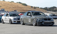 E92 M3 with Race Silver SM-10 Wheels<br />E46 M3 with Anthracite SM-10 Wheels