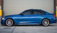 F30 Non-M with Race Silver SM-10 Wheels