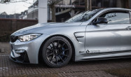 F82 M4 with Satin Black SM-10 Wheels