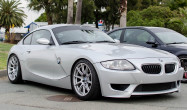 Z4 M with Race Silver SM-10 Wheels