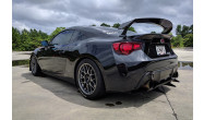 "Subaru BRZ<br />Anthracite 17x9"" ET42 ARC-8 wheels with 255/40-17 Maxxis Victra VR-1 tires"