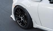 "18"" Square Fitment<br />Wheels: 18x9.5"" ET40 Satin Black EC-7R<br />Tires: 265/35-18 Michelin Pilot Sport 4S"