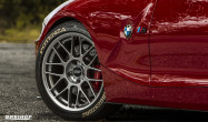 "Z4<br />Wheels: Hyper Black ARC-8 18x8.5"" ET38 front, 18x10"" ET25 rear<br />Tires: Bridgsetone Potenza s-04 Pole Position 225/45-18 front, 255/40-18 rear<br />Mods: 15mm front spacers"