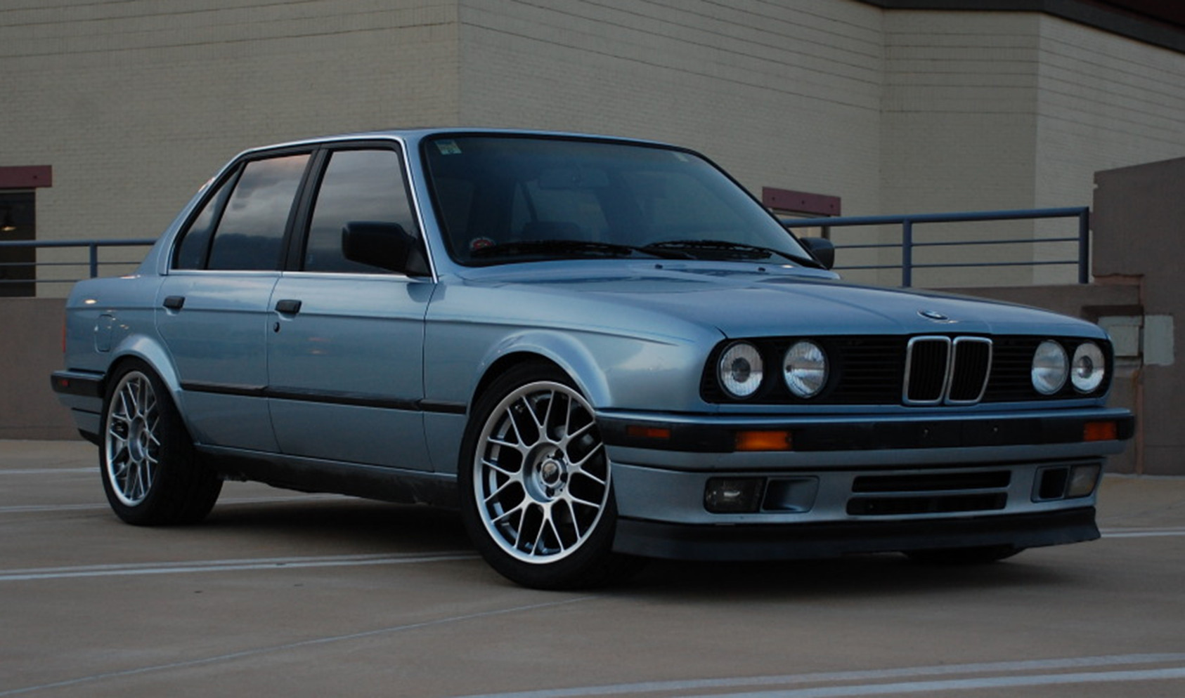 "E30<br />Wheels: 17x8"" ET25 Hyper Silver ARC-8"