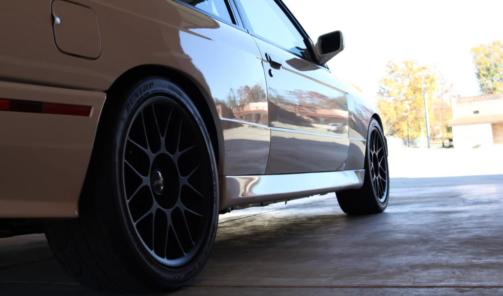 "E30 M3 Flat-Faced Square Fitment<br />Wheels: 17x8"" ET20 Satin Black ARC-8"