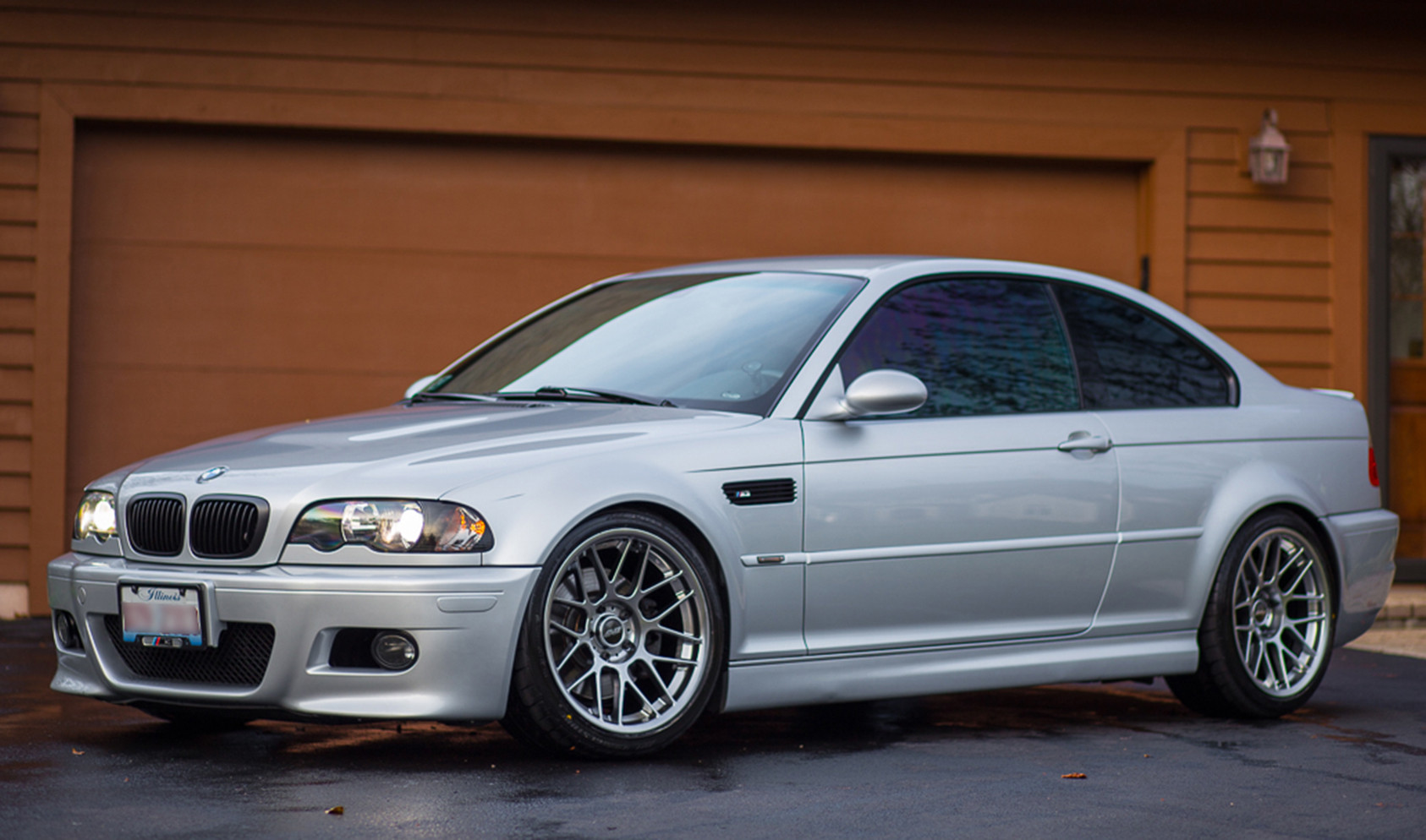 "E46 M3<br />Wheels: Hyper Black ARC-8 18x9.5"" ET35 front, 18x10"" ET25 rear<br />Tires: Bridgestone Potenza RE760 255/35-18 front, 265/35-18 rear"