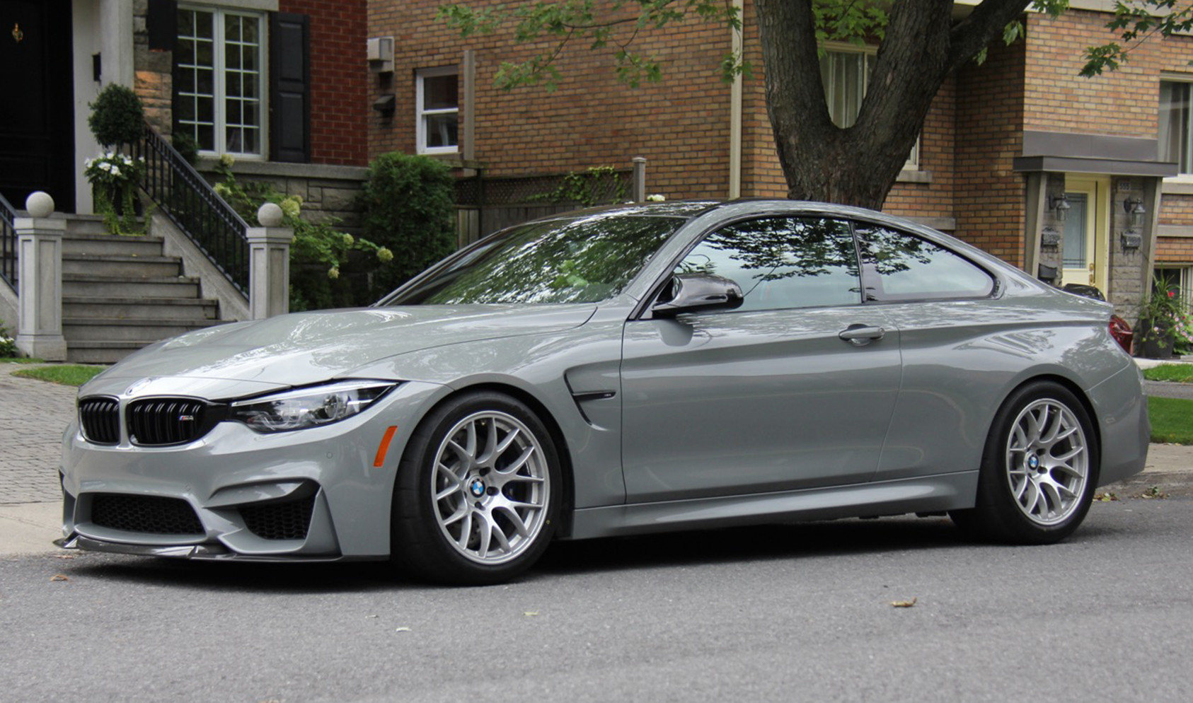 "F82 M4<br />Wheels: Race Silver EC-7 18x10"" ET25 front, 18x11"" ET44 rear"